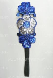 Headband Fleur Bleu
