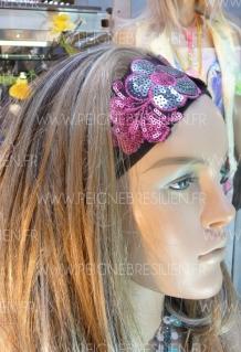 HeadBand Fleur Rose